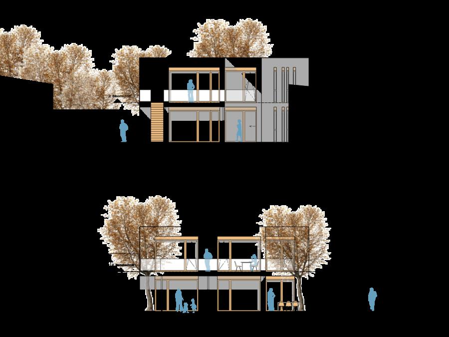 Ansicht Architektur ths architekten home